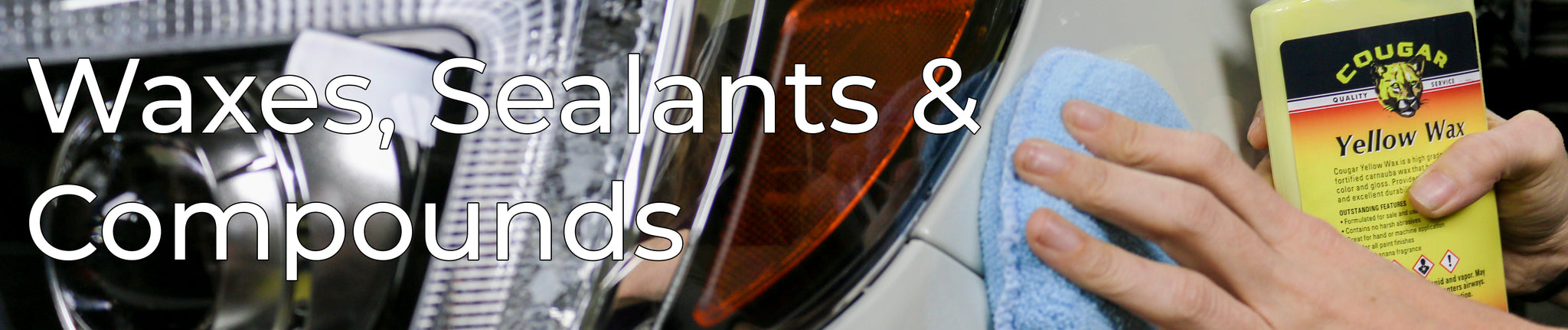 Waxes / Sealants, Compounds, Polishes & Coatings