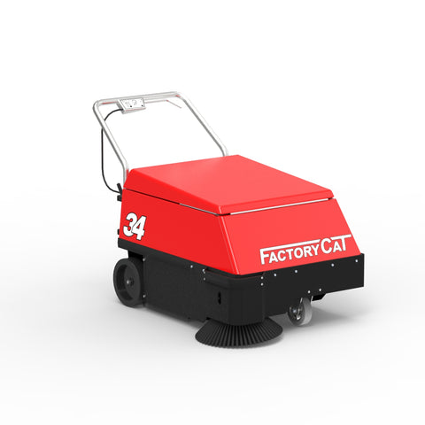 Factory Cat Model 34 Walk Behind Sweeper Rental