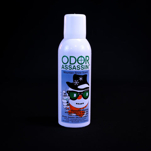 Odor Assassin 8 Oz Non Aerosol - Mountain Snow