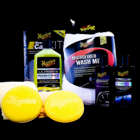 Meguiar's Brilliant Solutions New Car Detail Kit