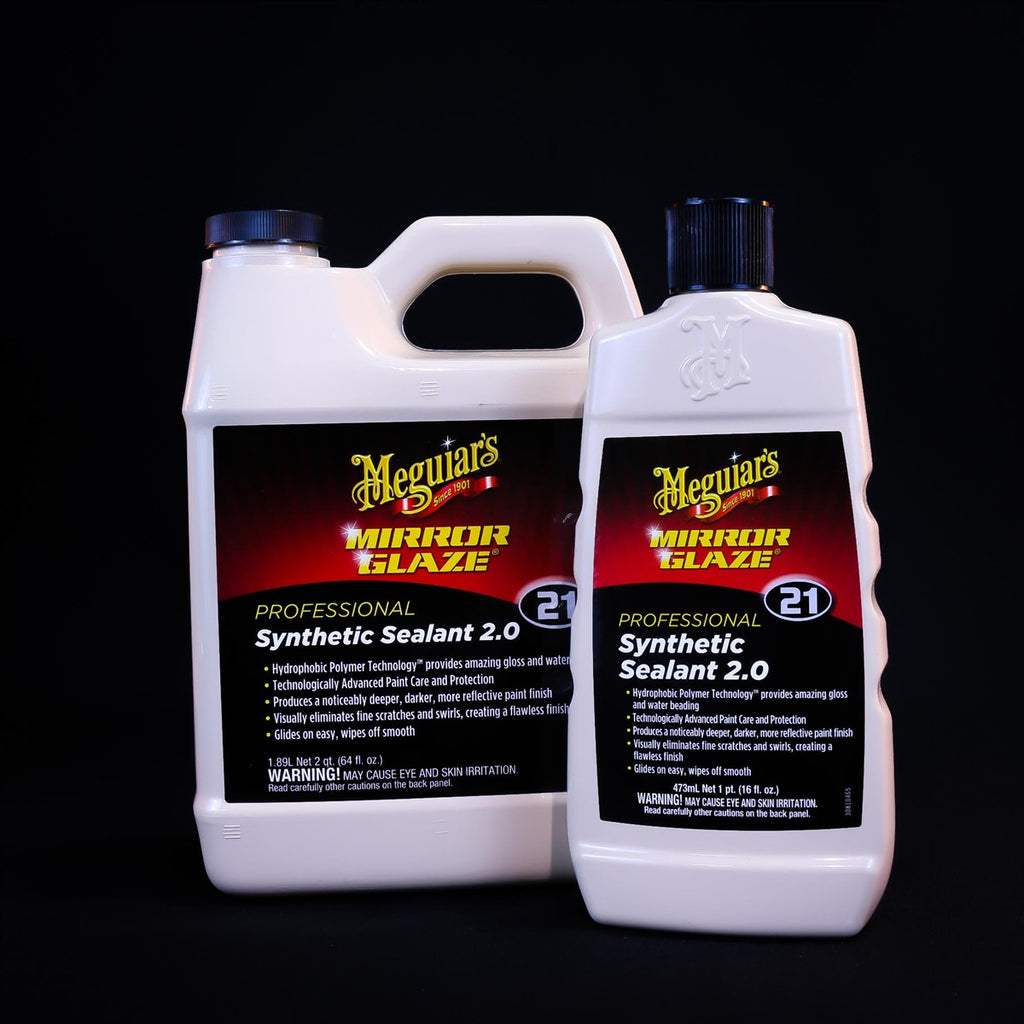 Meguiar S M Mirror Glaze Synthetic Car Paint Sealant