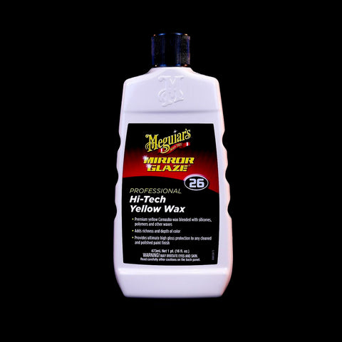 Meguiar's Hi-Tech Yellow Liquid Wax 26