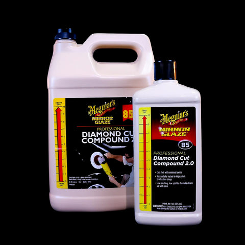 Meguiar's Mirror Glaze Diamond Cut Compound 2.0 85
