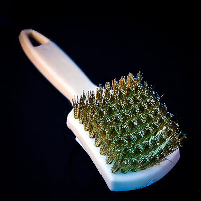Brass Tire Brush