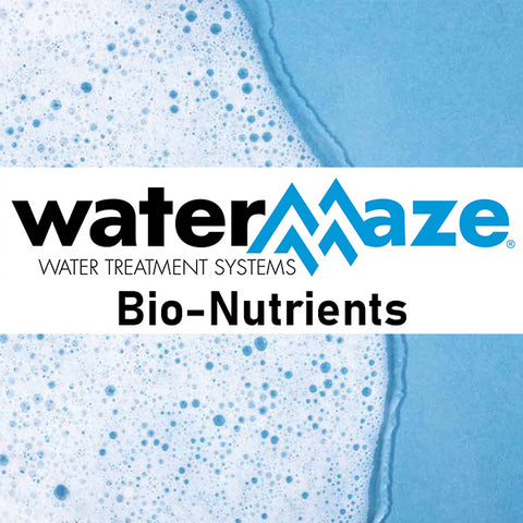 WaterMaze BioPuck HC, 4-pack with Bio-Nutrient and four pit socks