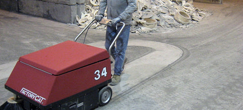Factory Cat Model 34 Sweeper