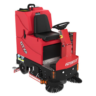 "Factory Cat GTX 29"" Battery Powered Rider Floor Scrubber Rental"