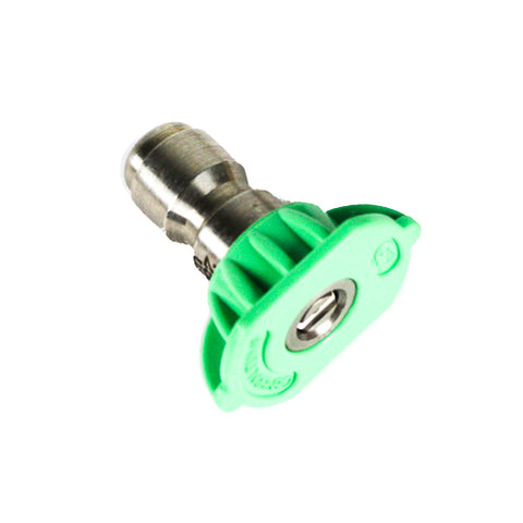 Quick Connect Nozzle Green 25°