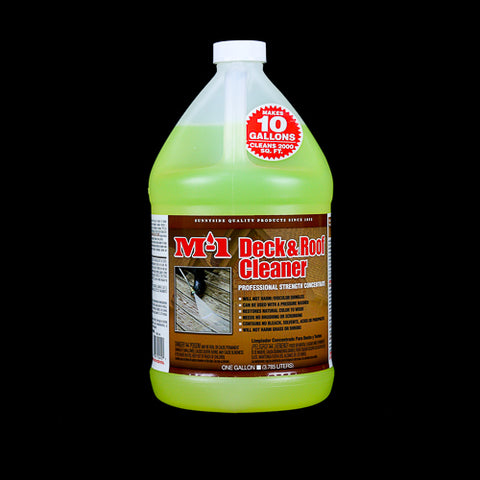 M-1 Roof and Deck Cleaner