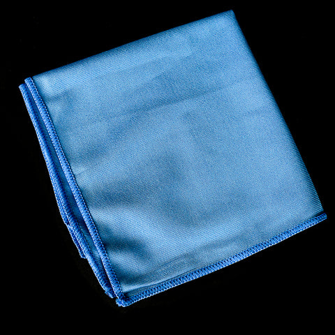 Blue Weave Glass Towel