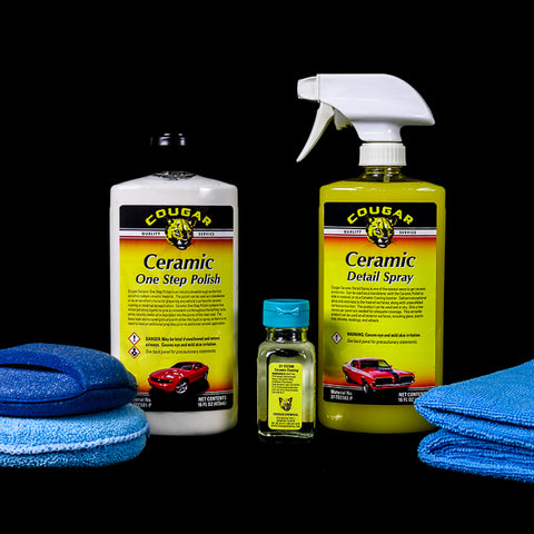 Cougar Ceramic Coating Kit