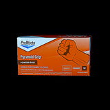 Pro Works Pyramid Grip Nitrile Disposable Gloves