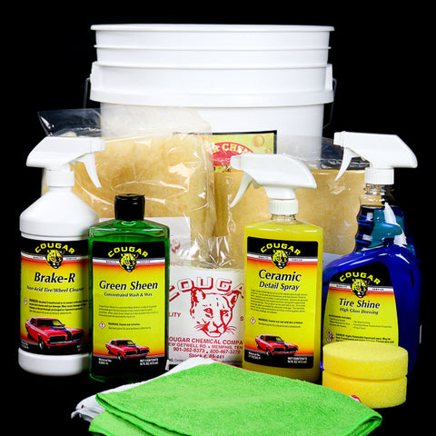 Cougar Exterior Car Care Kit