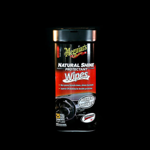 Meguiar's Satin Natural Shine Protectant Wipes