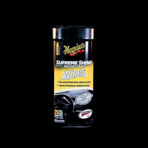 Meguiar's Glossy Supreme Shine Protectant Wipes
