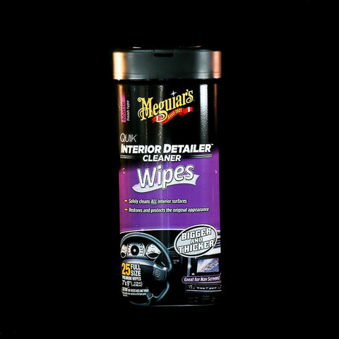 Meguiar's Matte Quik Interior Detailer Cleaner Wipes