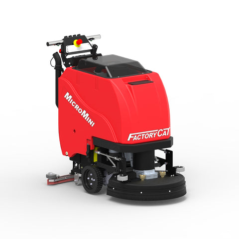 Factory Cat Micro Mini Floor Scrubber Rental