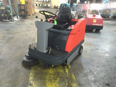 Used Powerboss Apex 47 Rider Sweeper