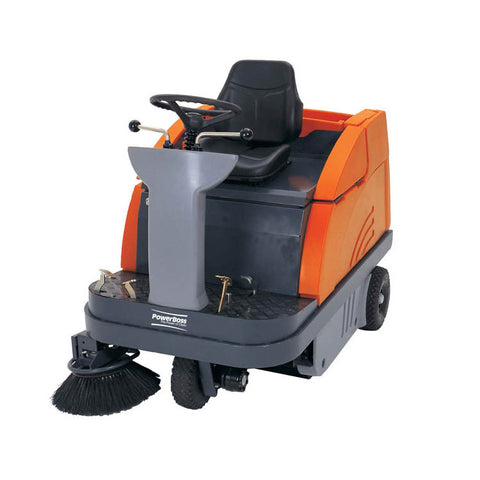 Powerboss Apex Rider Sweeper Rental