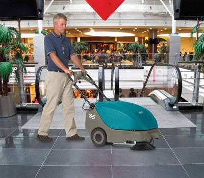 Tennant S5 Compact Battery Sweeper