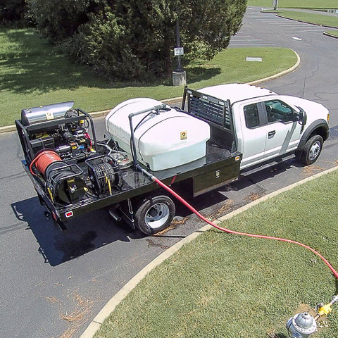 Truck Mounted Pressure Washing System