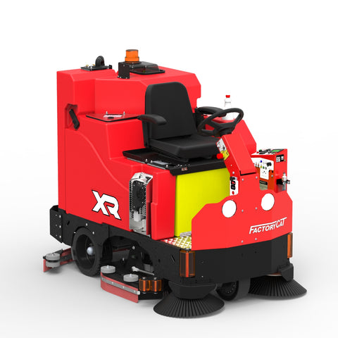 "Factory Cat XR 46"" Battery Powered Rider Floor Scrubber Rental"