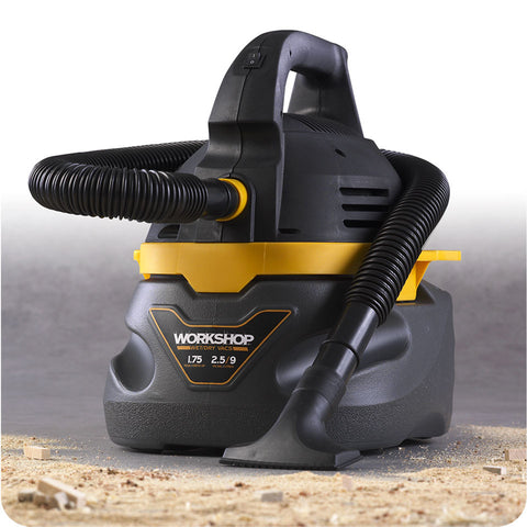 Workshop WS0250VA 2.5 Gallon 1.75 Peak HP Portable Wet/Dry Vacuum