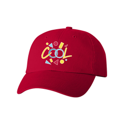 Cool Dad Hat - Red