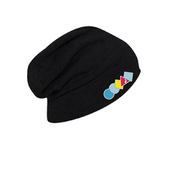 Shapes Slouch Beanie