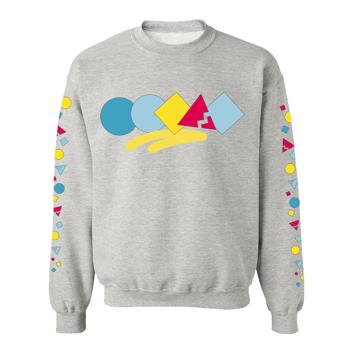 Shapes Crewneck Sweatshirt