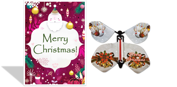 Magic Butterfly Cards - Christmas Santa