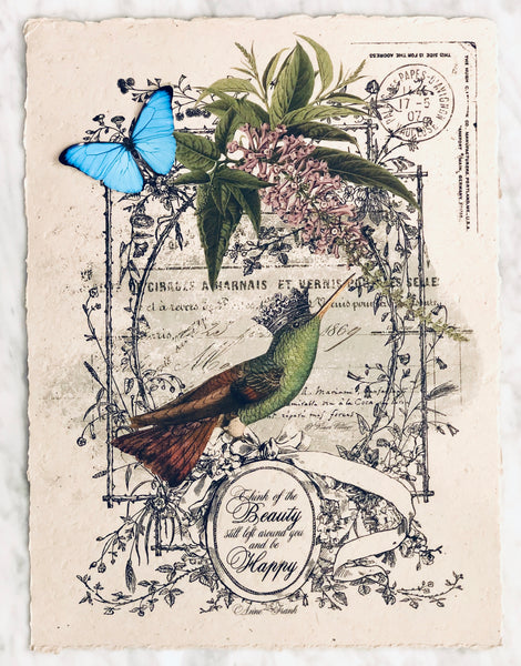 Art Print - Hummingbird
