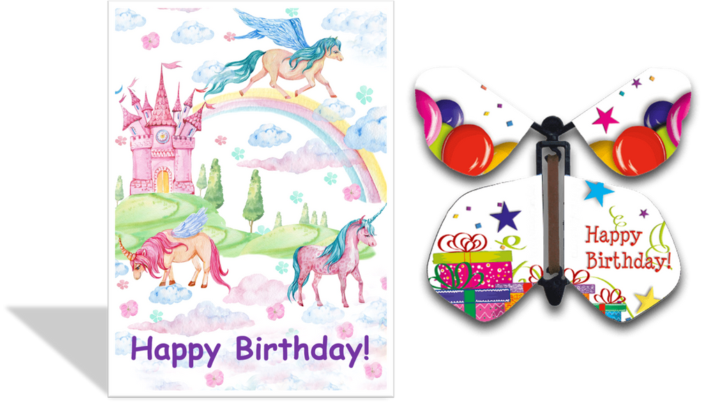 CRD-114 Happy Birthday Unicorns