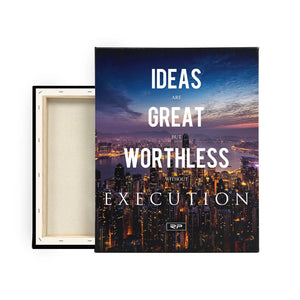Execution - 16x20 canvas print