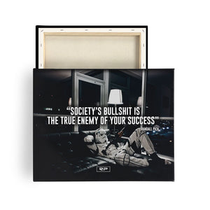 Society - 16x20 Canvas Print