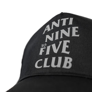 Anti Nine to Five Classic Snapback - Black / Grey