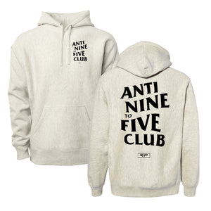 Anti Nine To Five Hoodie - Oatmeal Heather