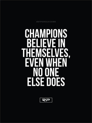 CHAMPIONS - 18x24 Poster