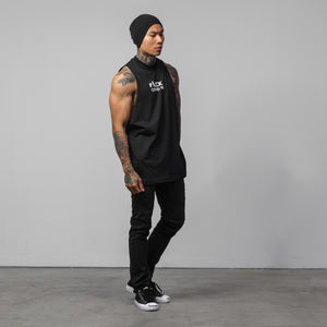 F*CK Covid 19 Cut-Off Tee - Black