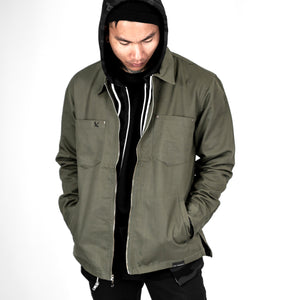 Army Zip Up Work Jacket