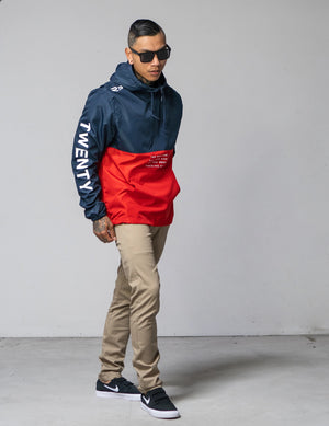 Twenty Four 7 Anorak Windbreaker Jacket