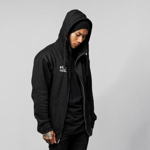 F*CK Covid Full Zip Up Hoodie