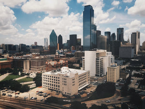 Dallas - 16x20 Canvas Print