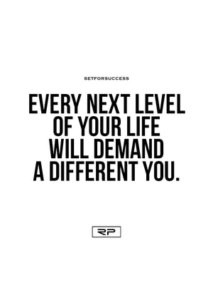 Demand A Different You - 18x24 Poster