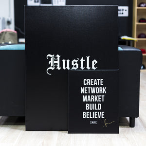 Hustle - 30x40 Canvas Print