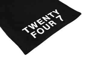Twenty Four 7 Tee - Black