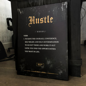 Rustic Hustle - 18x24 Canvas Print
