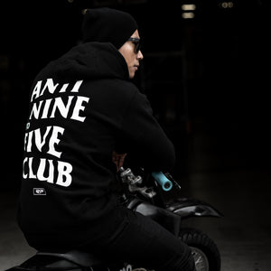 Nine To Five Hoodie - Black