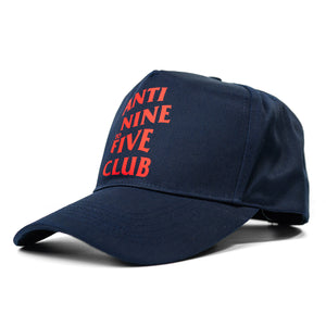 Anti Nine to Five Classic Snapback - Navy / Red