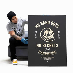No Handouts Canvas